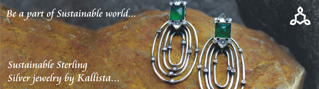 Sustainable silver jewellery