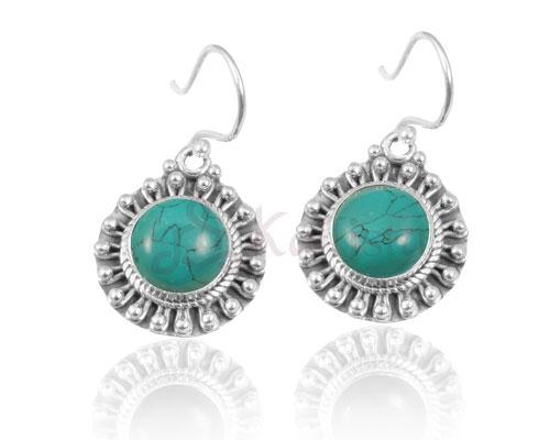 Sun earrings collection-Turquoise