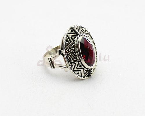 Mandana ring collection-  Garnet