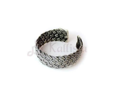 5 ply knotted  cuff