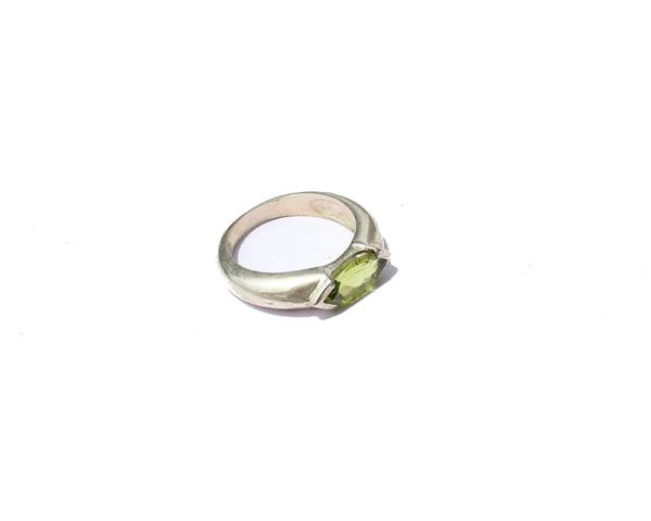 Crystal ring collection-Peridot