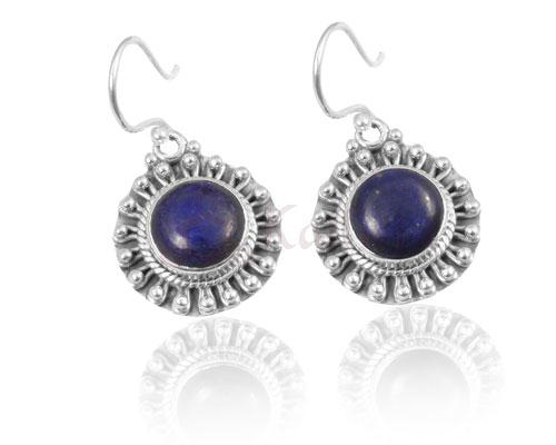 Sun earrings collection-Lapis