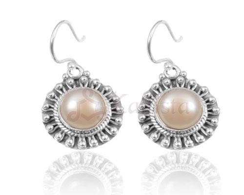 Sun earrings collection-Pearl